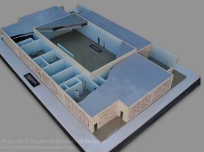 Civil Defense Museum Art Gallery Fallout Shelter Model Sets